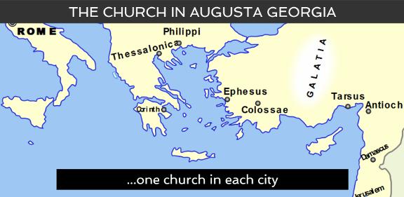 screenshot church in Augusta